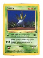 Oddish 58/64 Jungle Pokemon Card