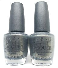 OPI Nail Polish Number One Nemesis NL M38 Green Olive Grey Shimmer Lacquer