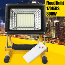 New listing 800W 170 Led Beads Rechargeable Floodlight Ip65Waterproof Work Camping Light+Rc