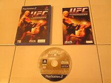 PS2 - UFC THROWDOWN - Completo e funzionante!!!