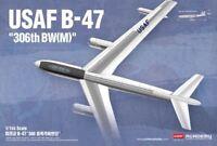 Academy USAF B-47 1/144 scale airplane model kit new 12618