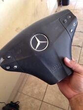 2002 MERCEDES C230 W203 BLACK STEERING WHEEL  AIR BAG