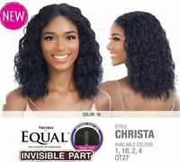 Freetress Equal Synthetic Invisible Part Wig Wavy Christa
