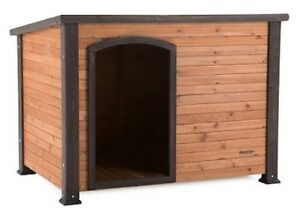 Precision Pet Extreme Outback Log Cabin Dog House, Large