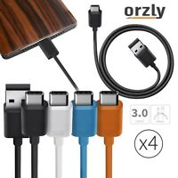 Orzly® TYPE-C USB 3.0 Charging Cable  Type C (USB-C) to Type A (USB-A) MULTIPACK