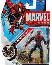 SPIDER-MAN • MARVEL UNIVERSE • C8-9 MISB • SERIES 001 HASBRO