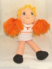Mascot Factory Blonde Collegiate Cheerleader Doll *Texas, Texas Tech or Virginia