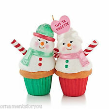 Hallmark 2013 A Couple of Cupcakes Ornament