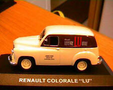 RENAULT COLORALE GATEAU BISCUIT LU PUBLICITAIRE 1/43 BISCUIT IXO ALTAYA