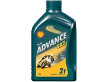 SHELL ADVANCE SX 2 STROKE ENGINE OIL 1ltr