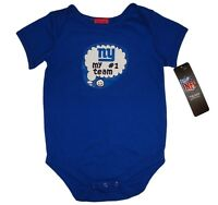 New York Giants NFL My #1 Team Fan Bodysuit Romper Infant/Baby Sizes