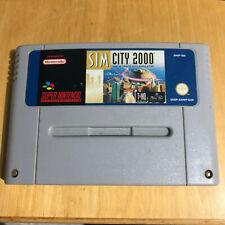 Super Nintendo SNES Game - Sim City 2000