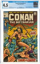 Conan the Barbarian #1 (1970) CGC 4.5 1st app. Of Conan