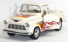 1955 Chevrolet 3100 Pick-Up Sammlermodell 1:32 Stepside beige KINSMART Neuware