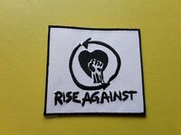 Rise Against Patch Embroidered Iron On Or Sew On Badge