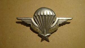 Insigne Brevet Parachutiste 1948 Indochine Drago déposé BOUILLOT ORIGINAL