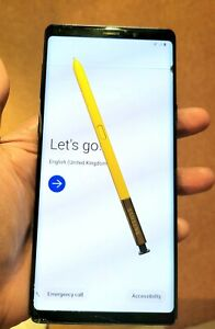 Samsung Galaxy Note9 SM-N960 - 512GB - Ocean Blue (Unlocked) (Single SIM)