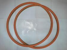 """copertone arancione bici copertura bicicletta 2 gomma coppia 28""""/700×24 duro"""