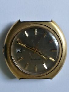 Benrus Cal Trumpet Watch, Men's 17 Jewels Swiss Mechanical Benrus RUNNING