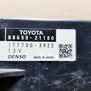 2011 2012 2013 2014 Scion Tc Toyota OEM A/C Temperature module 88650-21180