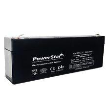 UPG 12V 2.2AH Sealed Lead Acid Battery for UB1223 Amp ES2.3- NP2.3-12 PS-1223
