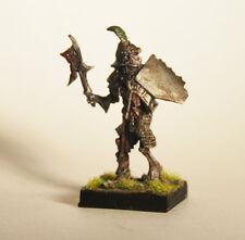 FIGURINE MINIATURE Guerrier Squelette MANTIC Undead Kings of War D&D AOS Peint
