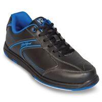 KR Strikeforce Flyer Black/Blue Men's Bowling Shoes
