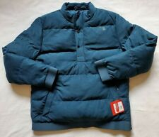 The North Face Men's Eros Goose Down Pullover Jacket Blue Heather Sz M NWT$149