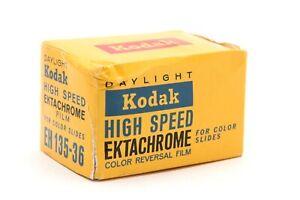Kodak High Speed Ektachrome EH 135-36 ASA 160 Slide Film (Exp Jan 1972) #34604