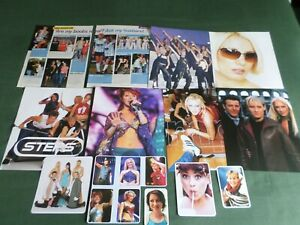 """"""" STEPS """"  GROUP  -  POP MUSIC -  CLIPPINGS /CUTTINGS PACK"""