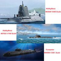 Trumpeter 04598 HobbyBoss 83509 87022 1/350 1/700 HMS Astute Submarine Model Kit