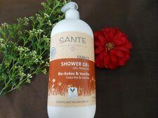 (11,05€/L) Sante Family Shower Gel Bio-Kokos & Vanille 950ml
