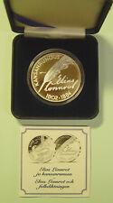Finnland 10 € 2002 -  200. Geb. Elias Lönnrot - PP 925er Ag