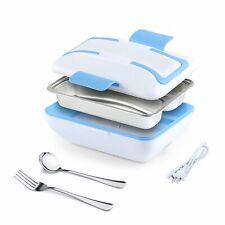 **OPEN BOX** Tayama EHB-304 Stainless Steel Heating Lunch Box White