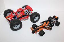LEGO Technic Black Champion Racer 42026 & Monster Truck 42005