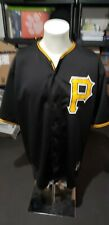 Starling Marte Pittsburgh Pirates Black Majestic Jersey..XXL
