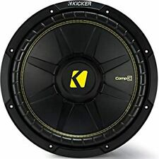 "KICKER 44CWCD84 COMP C SERIES 8"" 4 OHM DUAL VOICE COIL SUBWOOFER"
