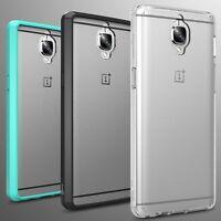For OnePlus 3T / (Three) Case Hard Back Soft Bumper Hybrid Slim Cover