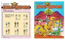 1988 Dino Riders MINI COMIC - Original vintage paperwork (Spanish version) Tyco
