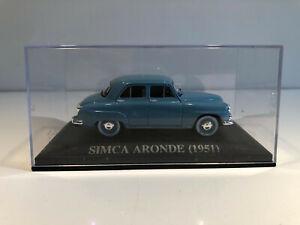 1/43 IXO Voiture Miniature SIMCA ARONDE 1951
