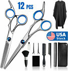 Best Hair Cutting Shears - Professional Hair Cutting Thinning Scissors Barber Shears Hairdressing Review