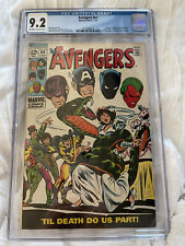 Avengers #60 cgc Certified 9.2 - Marriage Of Wasp & Yellowjacket