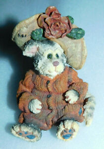Boys Bears Friends Purrstone Collection Mrs Partridge C'mon Get Happy Figurine