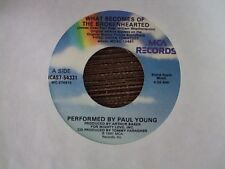 """PAUL YOUNG/THOMAS NEWMAN What Becomes Of The Broken Hearted/Ghost Train 7"""" 45"""