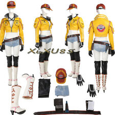 New Style Final Fantasy XV Cindy Aurum Cosplay Costume Full Suit  Halloween