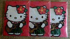 3 Hello Kitty Blank Inside Papyrus Greeting Cards High Quality Hawaiian style