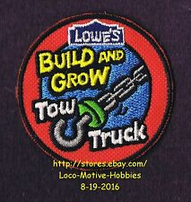 LMH PATCH Badge 2011 TOW TRUCK Wrecker Hook Towtruck LOWES Build Grow Project