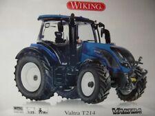 1/32 Wiking Valtra T214 blau 0778 14