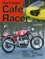 How to Build a Cafe Racer Book by Doug Mitchel ~ BRAND NEW!