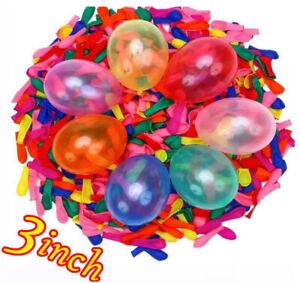 1000 Water Balloons Outdoor Summer Party Fun Water Bombs Garden Party Baloons UK